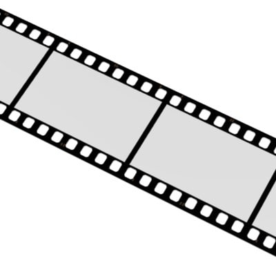 movie tape 3d model